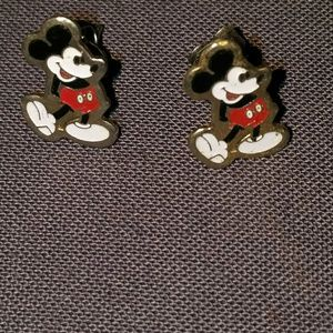 Authentic Mickey Mouse earrings